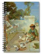 Children By The Mediterranean  Spiral Notebook