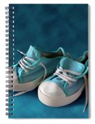 Children Sneakers Spiral Notebook