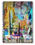 Child's Painting Easel Spiral Notebook
