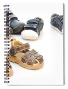 Childs Shoes Spiral Notebook