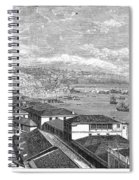 Chile: Valparaiso, 1865 Spiral Notebook