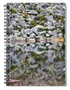 Chimney Pond Reflections Spiral Notebook