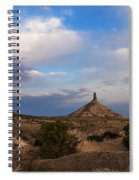Chimney Rock On The Oregon Trail Spiral Notebook