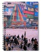 China Chengdu Morning Spiral Notebook