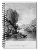 China: Coal Mining, 1843 Spiral Notebook