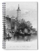 China: Golden Island, 1843 Spiral Notebook