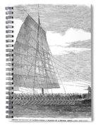 China: Junk, 1857 Spiral Notebook