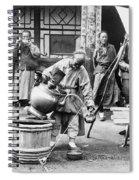 China: Manchuria, C1906 Spiral Notebook