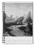 China: Wuyi Shan, 1843 Spiral Notebook