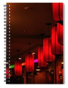 Chinatown - Colorful Shopping Mall Spiral Notebook