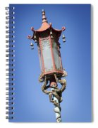 Chinatown Dragon Light Spiral Notebook
