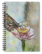 Chinese Butterfly Spiral Notebook