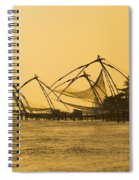 Chinese Fishing Nets Spiral Notebook