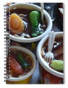 Chinese Food Miniatures 1 Spiral Notebook