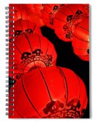 Chinese Lanterns 3 Spiral Notebook