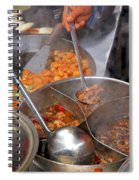 Chinese Street Food Spiral Notebook