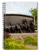 Chisholm Trail Monument Spiral Notebook