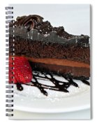 Chocolate Cake Spiral Notebook
