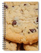 Chocolate Chip Cookies Pano Spiral Notebook