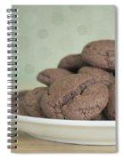 Chocolate Cookies Spiral Notebook
