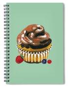 Chocolate Glaze Spiral Notebook