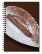 Chocolate Praline Spiral Notebook