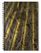 Chocolate Steel Spiral Notebook