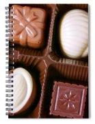 Chocolates Closeup Spiral Notebook