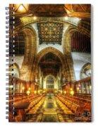 Choir Section Vertorama Spiral Notebook