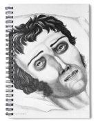 Cholera Victim, 1831 Spiral Notebook