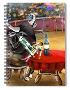 Chop Sticks For A Bull Spiral Notebook