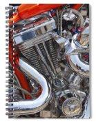 Chopper Engine Spiral Notebook