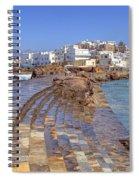 Chora Naxos Spiral Notebook