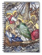 Christ And Apostles Spiral Notebook