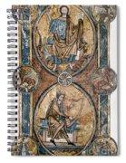 Christ And David Spiral Notebook