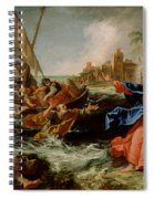 Christ At The Sea Of Galilee Spiral Notebook