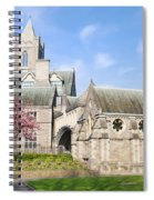 Christ Church Cathedral In Dublin Spiral Notebook