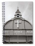 Christ Church In Melaka In Malaysia Spiral Notebook