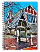 Christ Church Of St Michaels Spiral Notebook