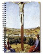 Christ Crucified Spiral Notebook