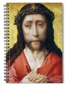 Christ In Crown Of Thorns Spiral Notebook