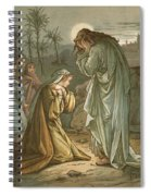 Christ In The Garden Of Gethsemane Spiral Notebook