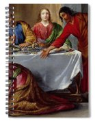 Christ In The House Of Simon The Pharisee Spiral Notebook