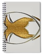 Christian Fish Spiral Notebook