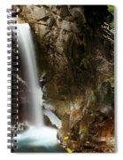 Christine Falls Canyon Spiral Notebook