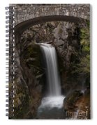 Christine Falls Serenity Spiral Notebook
