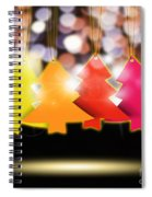 Christmas And New Year 2013 Spiral Notebook