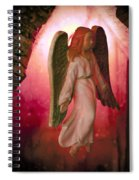 Christmas Angel Spiral Notebook