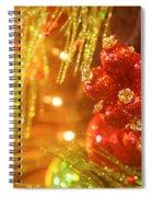 Christmas Baubles Spiral Notebook
