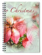 Christmas Card - Virginia Creeper In Autumn Colors Spiral Notebook